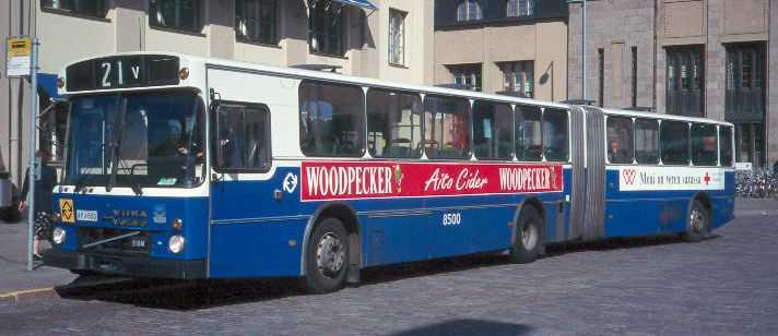 Volvo B10MA-55/Wiima N201-222 vuodelta 1983